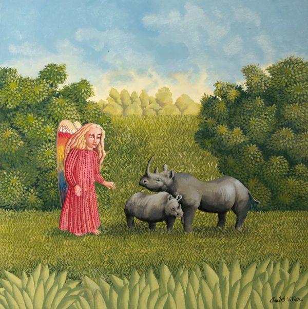 Ángel de los rinocerontes 2020